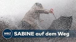 STURM SABINE: Vorbereitungen auf das Orkantief werden bereits getroffen