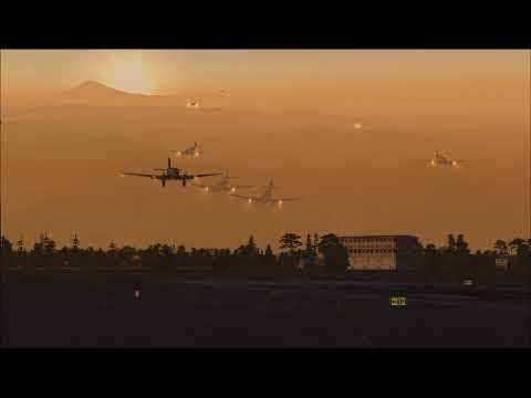 (FSX) A ROUND THE WORLD FLIGHT - Airborne Operation
