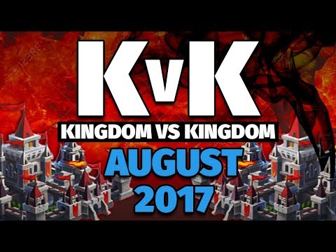 Lords Mobile - August 2017 KvK - 13.5 Million Kills and Hitting a MASSIVE TRAP!
