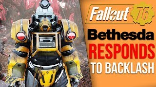 Fallout 76 News - Bethesda's Response to Backlash, Pay to Win Concerns, Reselling Fallout 4 Items