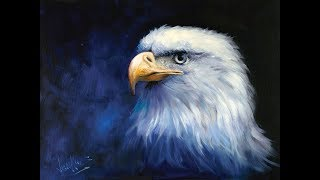 """The Beauty of Oil Painting, Series 3, Episode 7 : """"Majestic Eagle"""""""