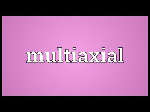 Header of multiaxial