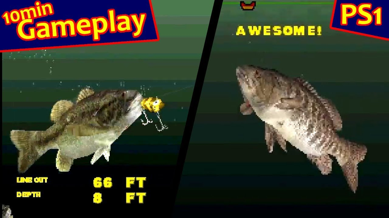 Big Bass Fishing Ps1 Youtube