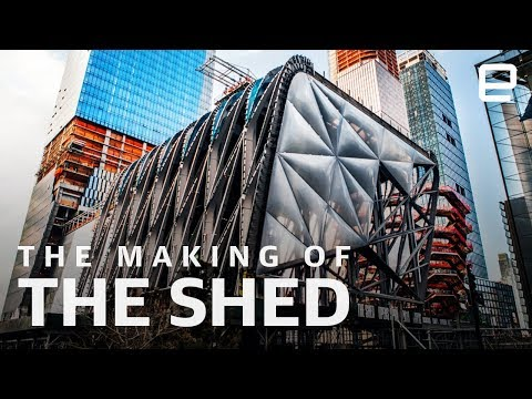 How The Shed was made: The kinetic architecture of New York'