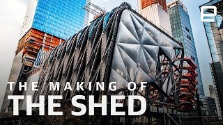 The Shed's concept is simple: It's the 120-foot tall building that moves. This idea is both its architectural hallmark and its metaphor for the future of culture.