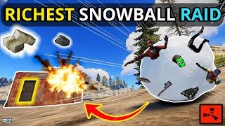 Gambar cover Rust RICH SNOWBALL Leads To A JACKPOT GP PROFIT RAID! - RUST solo/duo (Part 2 of 4)