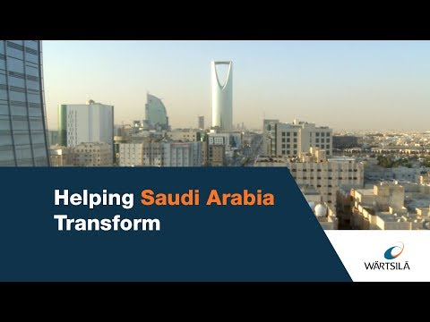 Helping Saudi Arabia transform | Wärtsilä