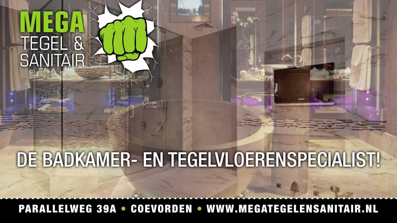 Mega Tegel en Sanitair Coevorden - YouTube