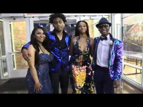 Jordan Knight/Vinsa Phillips Jr. Tarboro High School Prom 2018