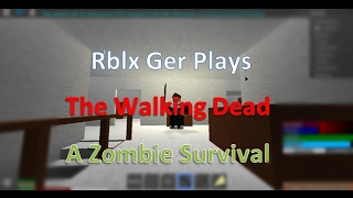 Roblox The Walking Dead - Rblx Ger