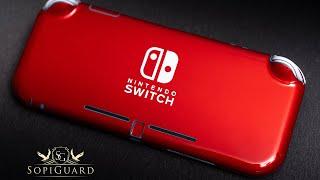 SopiGuard Installation Guide for Nintendo Switch Lite