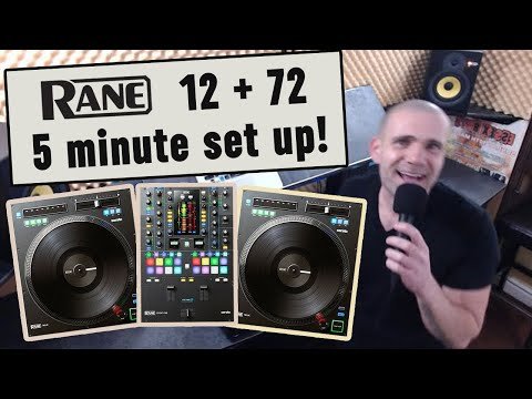 2019 - HOW TO: Set Up Your RANE TWELVE & SEVENTY TWO + DEMO. 10 Simple Steps DJ Richie Don Rane12