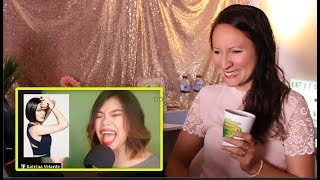 Vocal Coach REACTS to KATRINA VELARDE IMPERSONATING SINGERS 4 SHORT COVERS