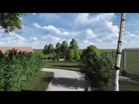 Проект ландшафтного дизайна, СПб, Коркино, Всеволожский район,
