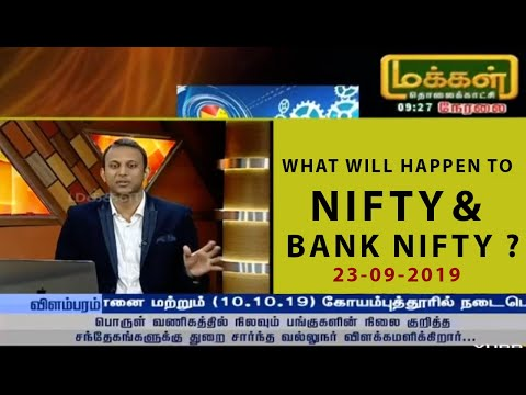 What Will Happen To Nifty & Bank Nifty ? 23-09-2019