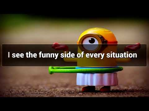 Being Humorous affirmations mp3 music audio - Law of attraction - Hypnosis - Subliminal