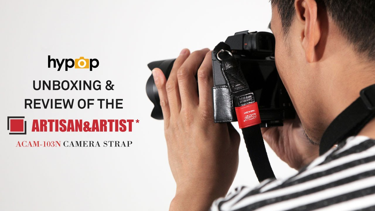 Artisan and Artist ACAM E25R Strap for Camera Red