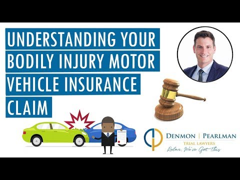 Understanding Your Bodily Injury Motor Vehicle Insurance Claim