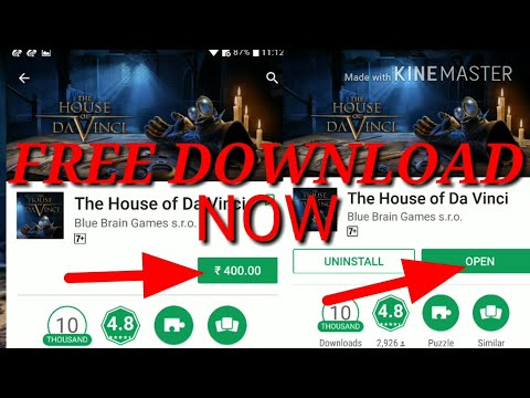 How To Download The House Of Da Vinci For Free Android Games Apk+data+obb