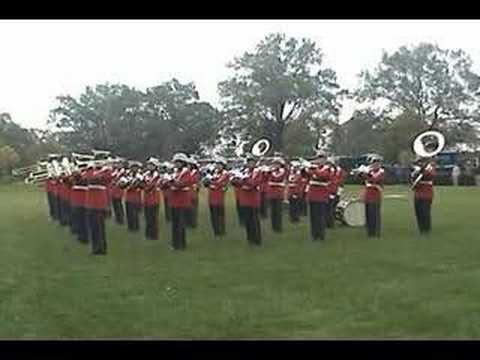 The Marine Band performs The Marines' Hymn