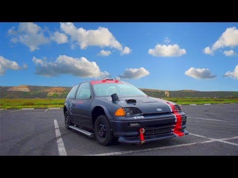 1994 Geo Metro Review!- The Red Baron Deathtrap!