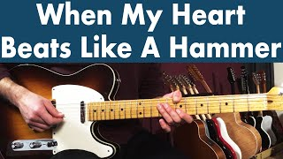 How To Play When My Heart Beats Like A Hammer | Eric Clapton & B.B. King Guitar Lesson + TABS