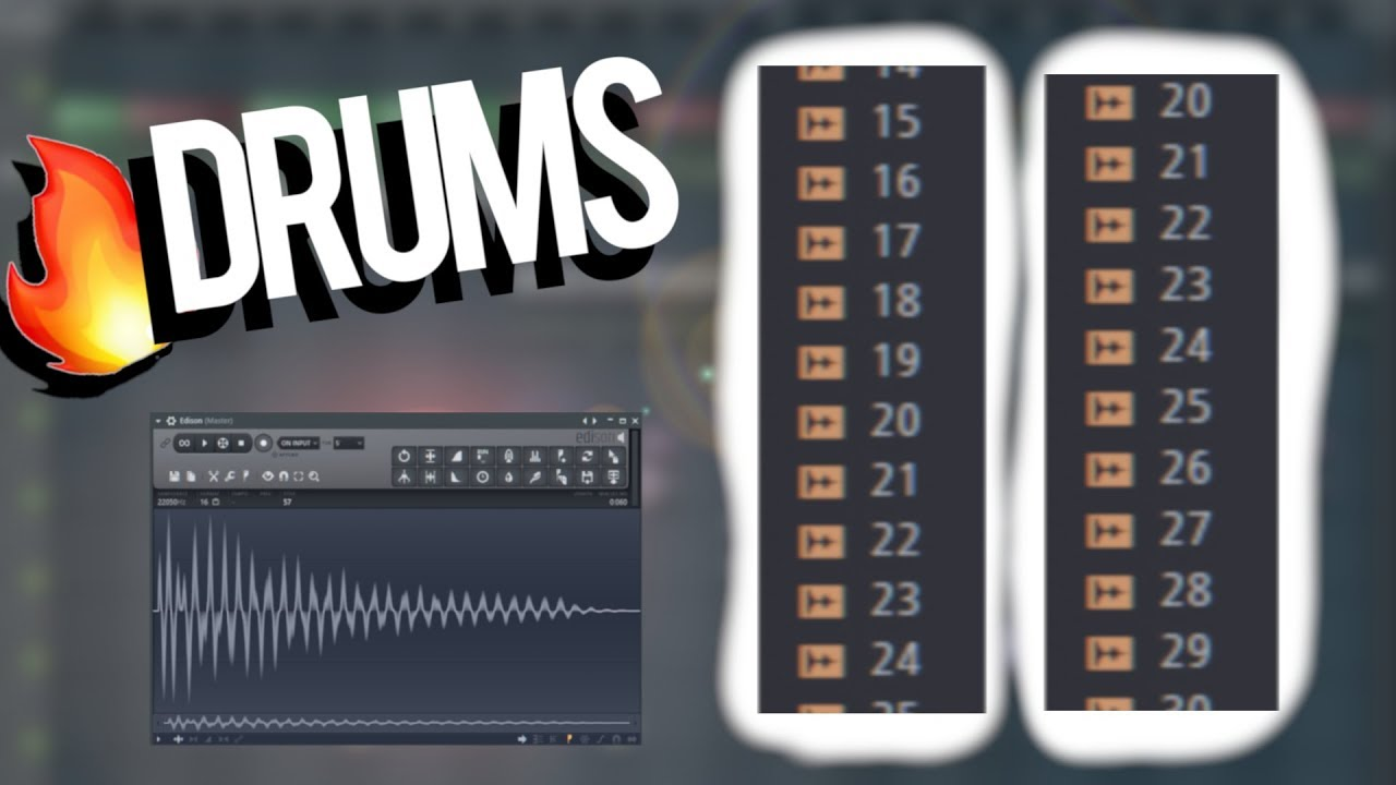 How to find & create FIRE drum samples for your DRUM KITS / BEATS by  AyyWalker