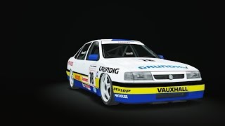Vauxhall cavalier BTCC release candidate test drive