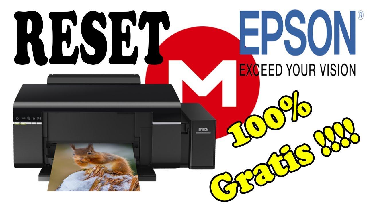 Descargar Reset Epson 100% GRATIS (Solución las