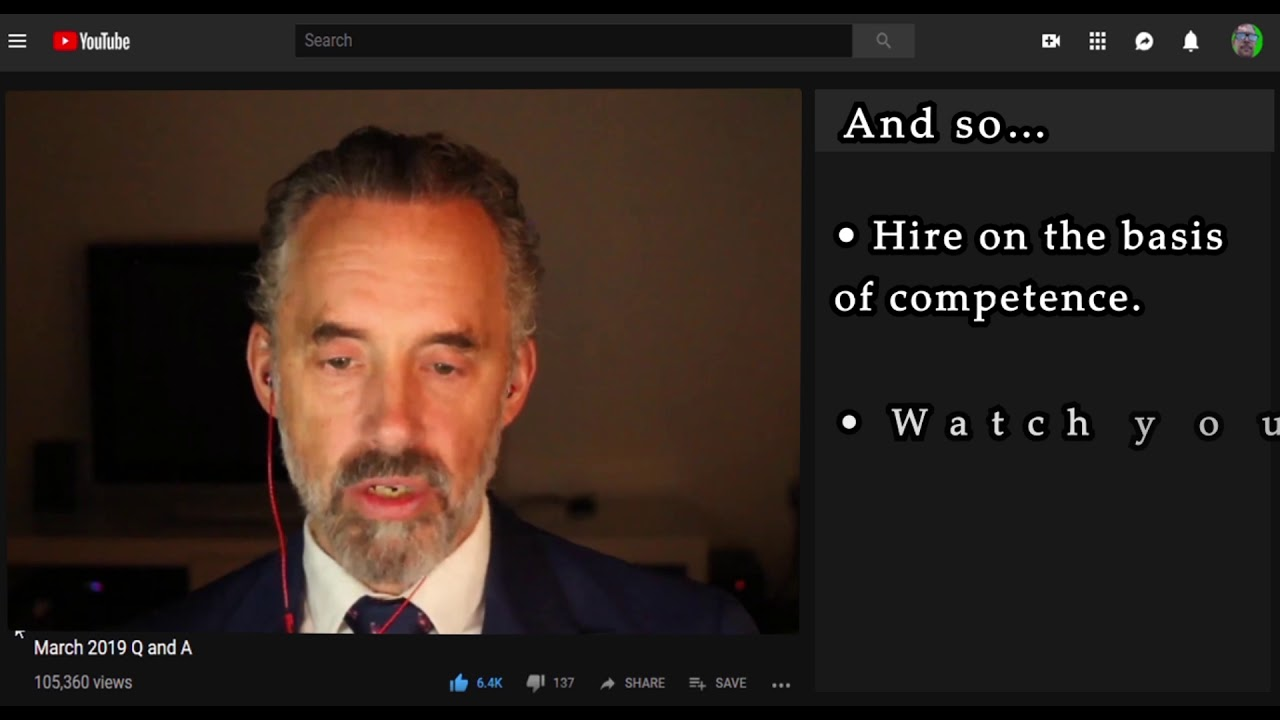 Jordan Peterson Stoping Identity Politics in your Workplace || Animated Text