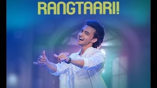 Rangtaari Song | Dance | Loveyatri | Aayush Sharma | Lyrics | Shiamak London Winter funk 2018
