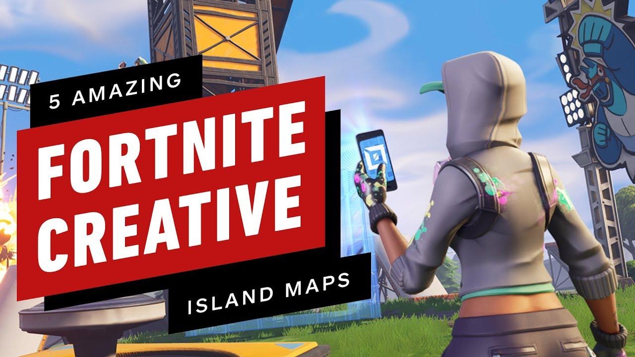 5 Amazing Fortnite Creative Mode Maps Youtube