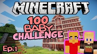 Lets Get Baby Making! | Minecraft 100 Baby Challenge Ep.1