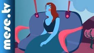 Szalóki Ági: Libegő (rajzfilm gyerekeknek) | MESE TV