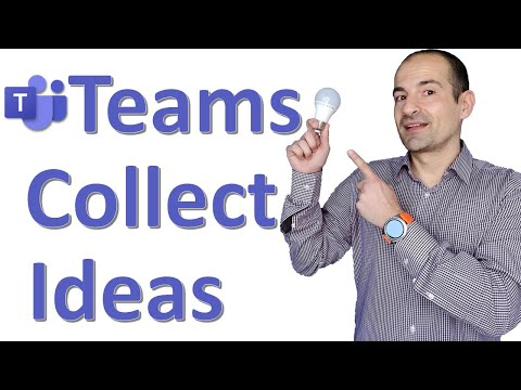 💡 How to use Employee Ideas App in Microsoft Teams