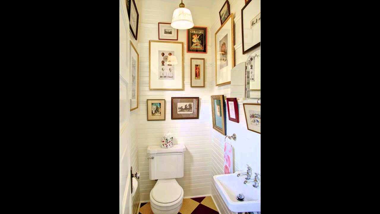 how to decorate a bathroom with no windows  YouTube