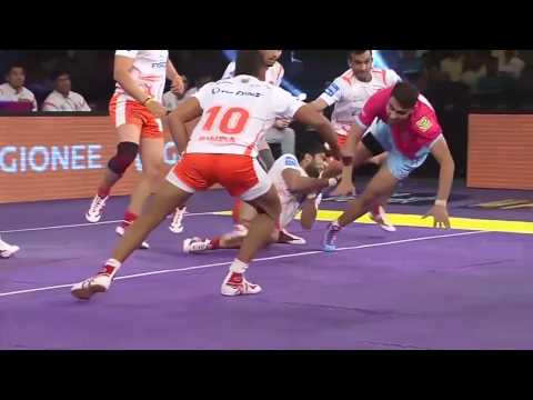 Ajay Kumar's top 4 raids in PKL-4
