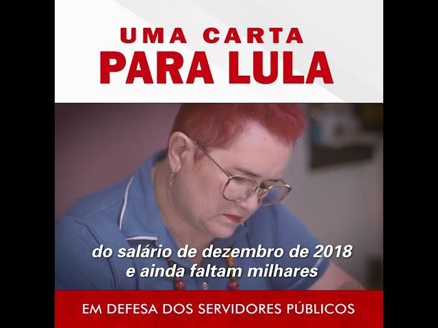 """Presidente de Sindicato faz """"carta para Lula"""" com desabafo contra Fátima"""