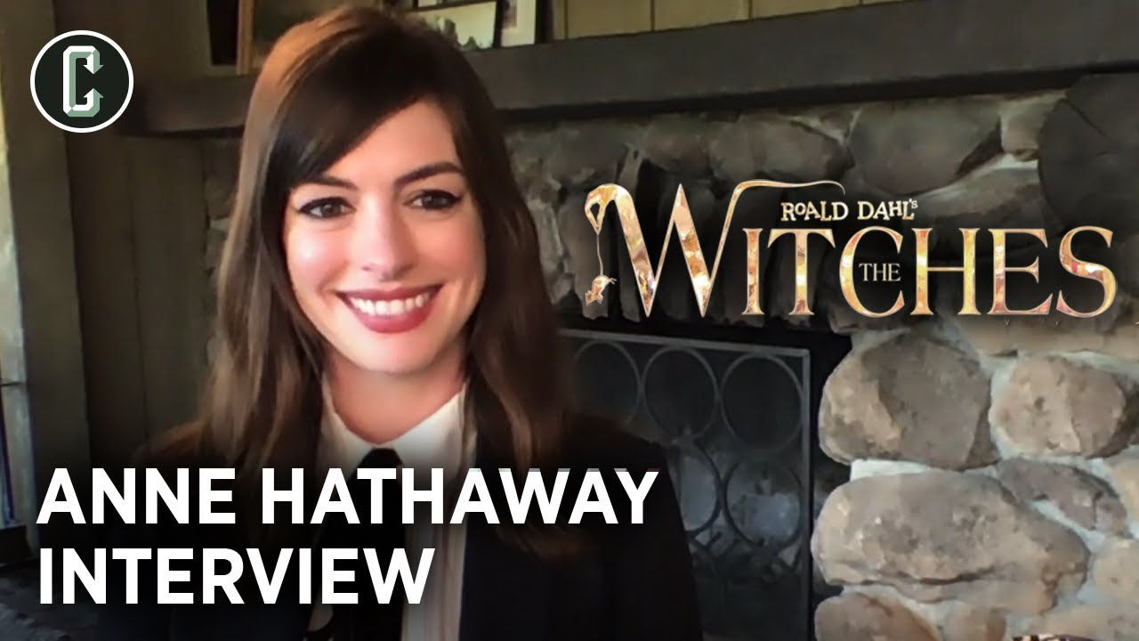 Anne Hathaway on The Witches and Advice She'd Give to Zoe Kravtiz's Catwoman