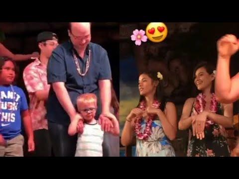 """LizQuen sumayaw ng """"Hula"""" sa Hawaii-One Magical Night Concert"""