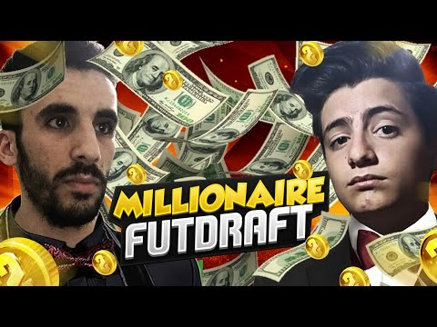 MILLIONAIRE FUT DRAFT CHALLENGE w/ZELO | FIFA 16 ULTIMATE TEAM