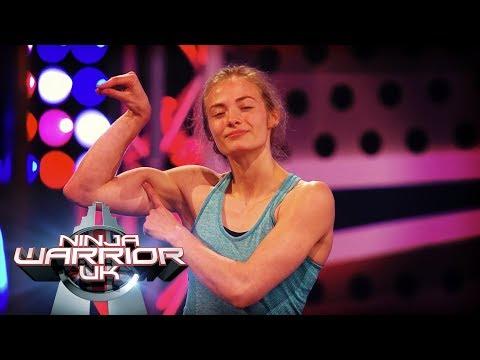 Imogen Horrocks ASTONISHING Ninja Warrior run! | Ninja Warrior UK