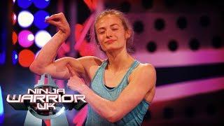 Imogen Horrocks ASTONISHING run!   Ninja Warrior UK