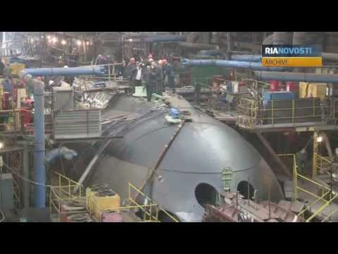 Russia Hands Over Refitted Indian Sub