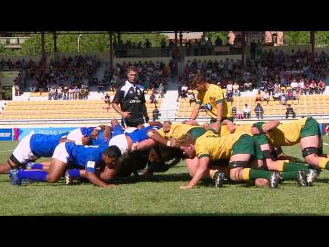 U20 HIGHLIGHTS: Australia beat Samoa in action-packed match