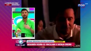Escándalo por fotografía que vincularía a Benjamín Vicuña con Natalia Oreiro