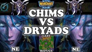Grubby | Warcraft 3 TFT | 1.29 | NE v NE on Last Refuge - Chims vs Dryads!
