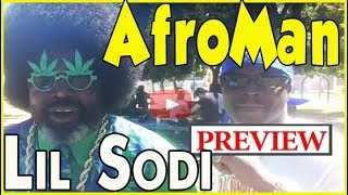 Lil Sodi and Afroman at St. Andrews Park, Los Angeles [PREVIEW]