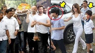Hrithik Roshan's Kids Hridhaan & Hrehaan Get EMOTIONAL & CRY wid Family At @Grandpa's Last Rites