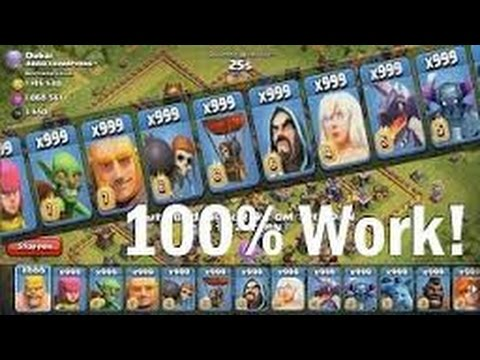 Clash Of Clans Infinite Troops 100% Working Glitch!!! *Patched*
